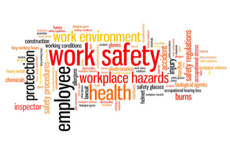 Working safely course, click here to register and start